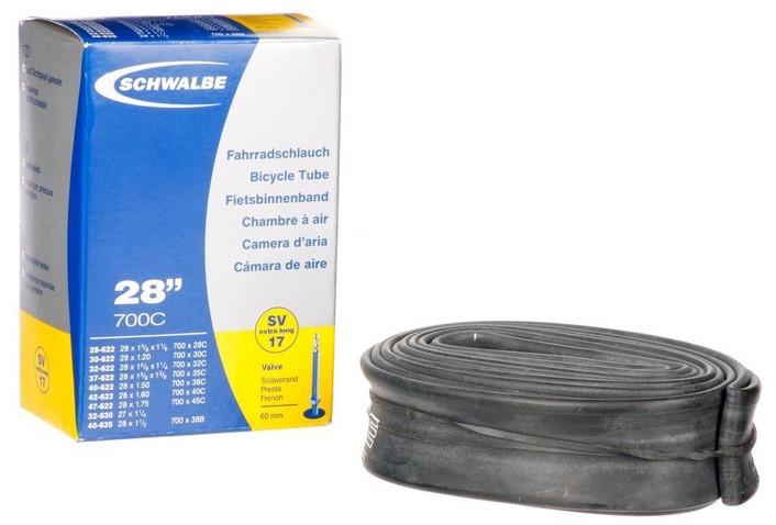 Schwalbe Inner Tubes 60mm Presta long valve