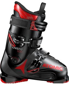 Atomic LIVE FIT 100 Black/Anthracite/Red Ski Boot