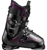 Atomic Atomic LIVE FIT 90 W Black/Anthracite/Purple Ski Boot