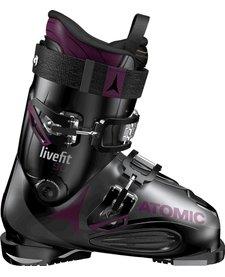 Atomic LIVE FIT 90 W Black/Anthracite/Purple Ski Boot