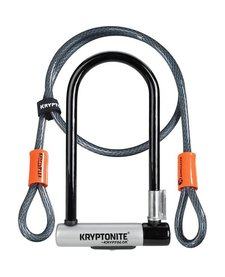 Kryptonite Standard U-Lock With 4 Foot Cable Sold Secure Gold