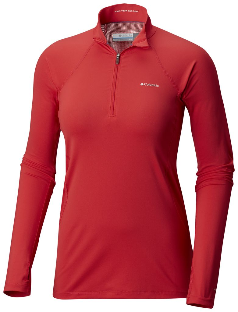 Columbia Columbia Midweight Stretch L/S 1/2 Ladies Top