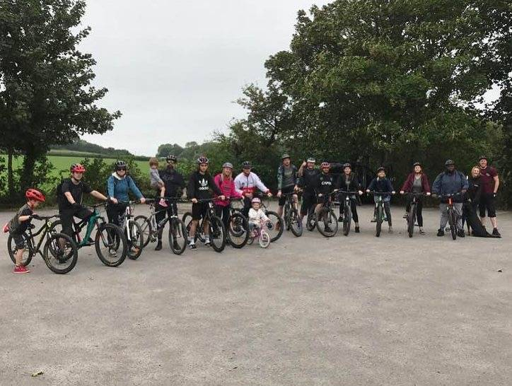 Finches South Downs ride 2018