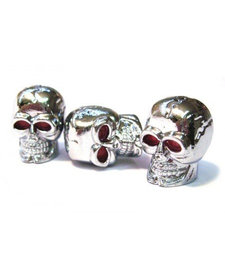 D20 Platsic Skull SV Valve Caps (Pair)