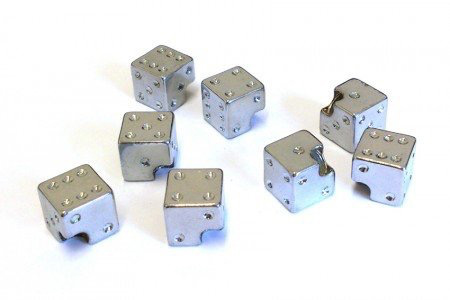 Cycle Division Dice Valve Caps (Pair)