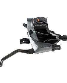 Shimano M4000 Alivio 9-speed STI lever for V-brake