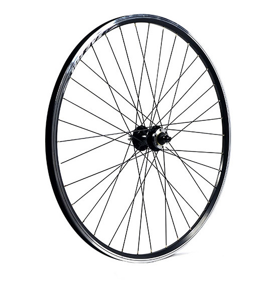M Part Front Wheel 29 x 1.75 Alloy QR axle black, 6 Bolt Disc