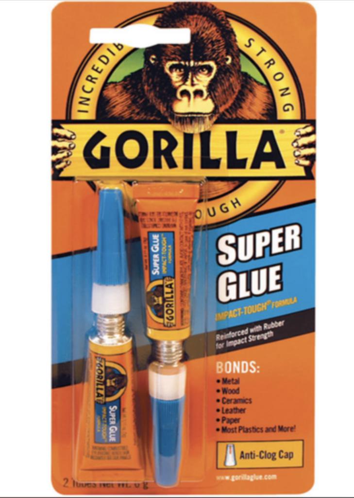 Madison Gorilla Superglue 2 x 3 g