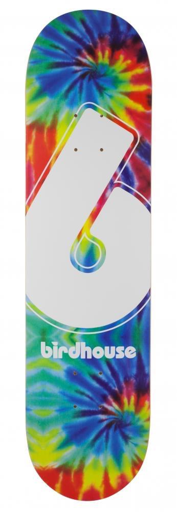 Shiner Birdhouse Logo Deck Giant B Tie Dye 8IN