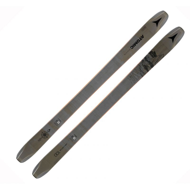 Atomic Atomic BENT CHETLER 100 Dark Grey/Bk Ski