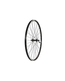 700c Front Wheel, Alloy Hub, Mach1 240 Rim, 36H, Black