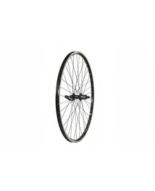 700c Front Wheel, Mach1 240 Rim, Black, 8/9spd Cassette Hub