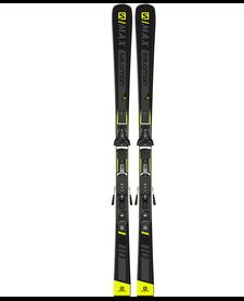 SALOMON MAX 10 + Z12 GW F80 Black/Ye