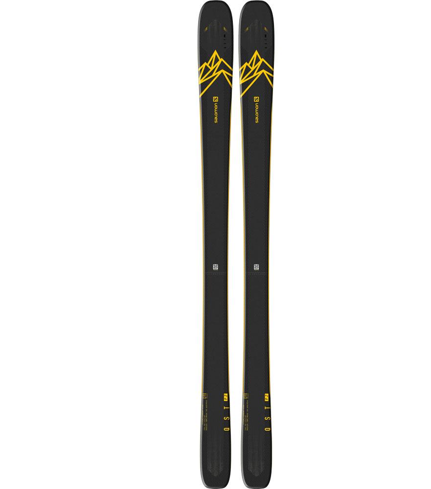 Salomon SALOMON QST 92 Dark Blue/Yellow Size 177