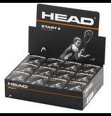 Reydon Head Start Squash Ball - Single White Dot