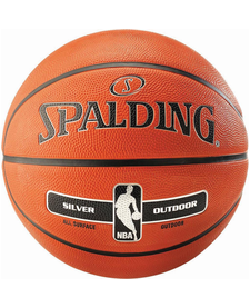Spalding NBA Silver Outdoor Basketball