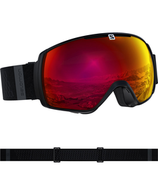 SALOMON GOGGLES XT ONE SIGMA BK/Univ. Pop Red