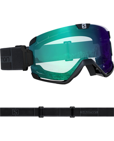 SALOMON COSMIC PHOTO Blk/AW Blue Goggle