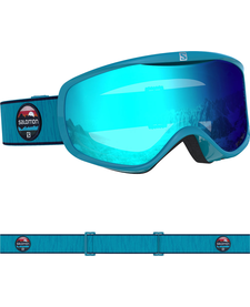 SALOMON SENSE Blue Bird/Uni Mid Blue Ladies Goggles