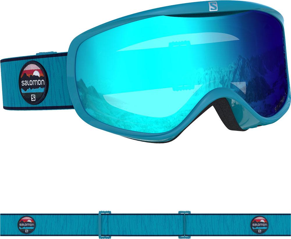 Salomon SALOMON SENSE Blue Bird/Uni Mid Blue Ladies Goggles