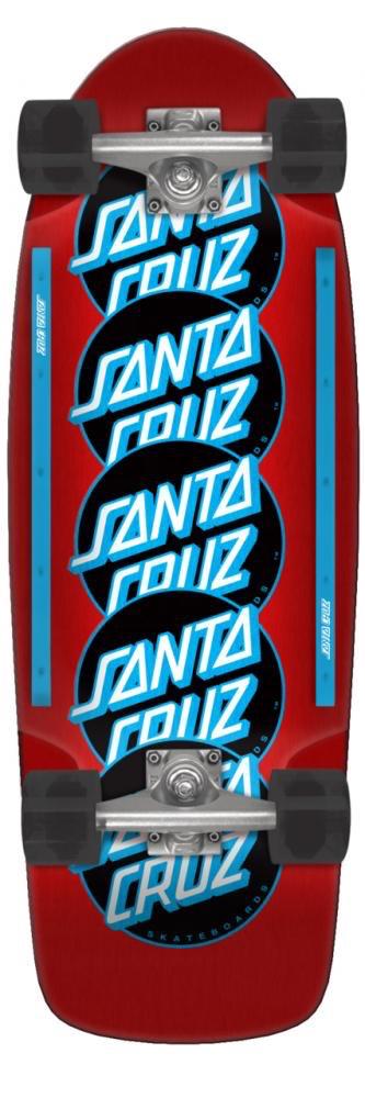 Sante Cruz Santa Cruzer Classic Dot Stack 80s Complete
