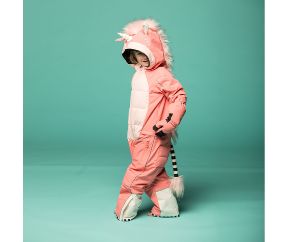 WeeDo WeeDo Unicorn Kids Snowsuit