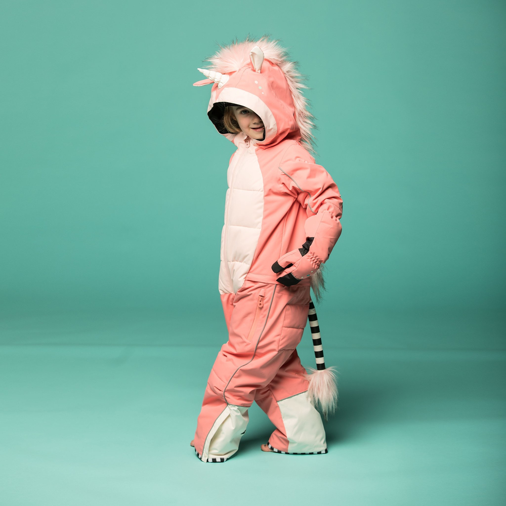 WeeDo WeeDo Unicorn Kids Snowsuit