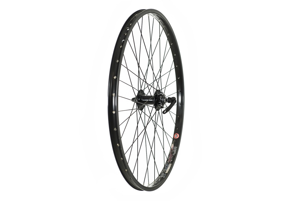 """Raleigh 26"""" Double Wall Jump Front Disc Wheel QR"""