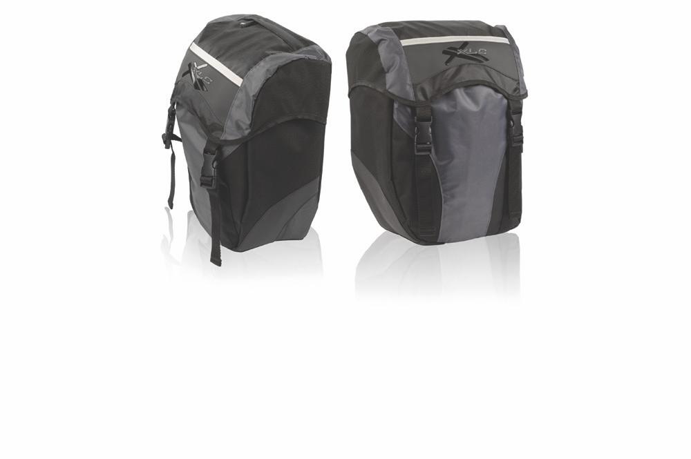 Raleigh XLC Pannier Bags pair @ 15L each