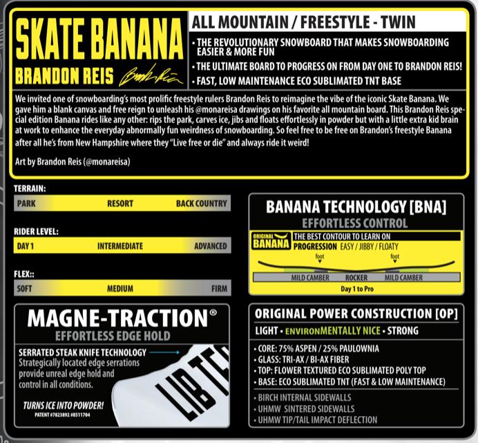 Lib Tech Lib Tech Skate Banana