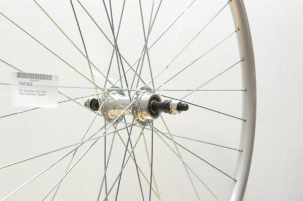700c Rear Wheel - Solid Axle - Freewheel - Hybrid