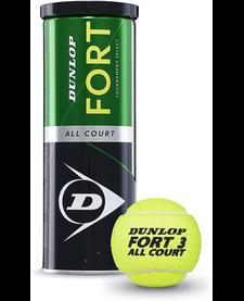 Dunlop Fort Tennis Balls 3's