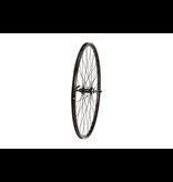 Raleigh 700C REAR WHEEL, MACH1 240 RIM, BLACK, SCREW-ON HUB