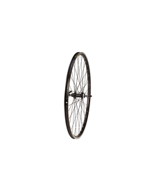 700C REAR WHEEL, MACH1 240 RIM, BLACK, SCREW-ON HUB