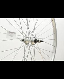 700c Rear Wheel S/S F/WHL Silver Hybrid