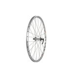 """Raleigh 26"""" Front Wheel Double Wall MTB Silver QR"""