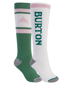Burton Weekend Mid Weight Womens 2 Pack Sock