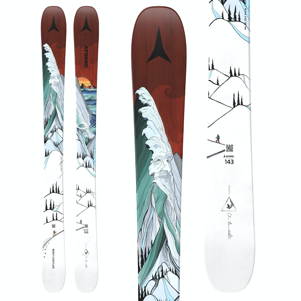 Atomic Atomic Bent Chetler 143 Junior Ski