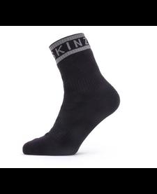 Sealskinz Waterproof Warm Weather Ankle Length Sock With Hydrostop
