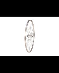 27x1 1/4 Rear Wheel Alloy, Screw On Silver