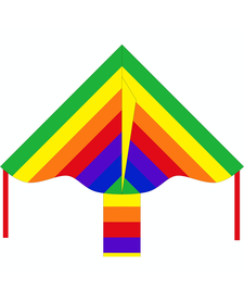 Simple Flyer Rainbow Kite