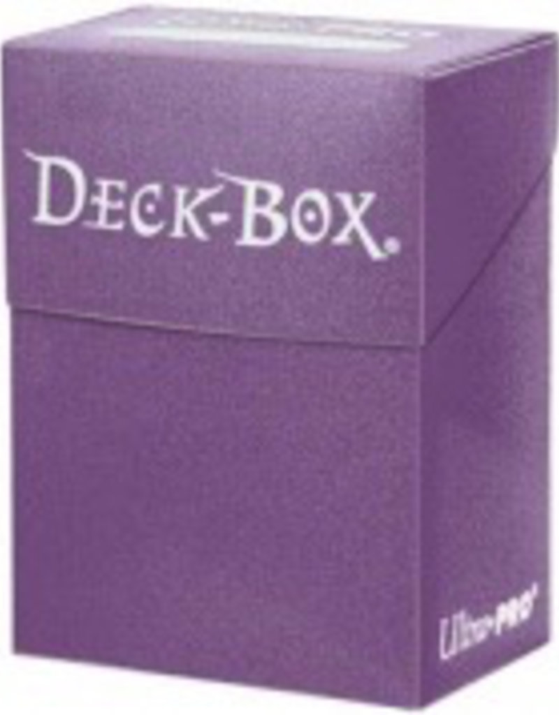 UP - Deck Box Solid UP - Deck Box Solid - Purple