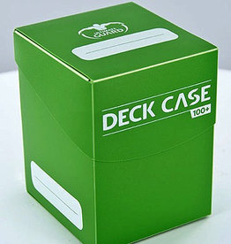 UG - Deckboxen Ultimate Guard Deck Case 100+ Standardgrösse Grün