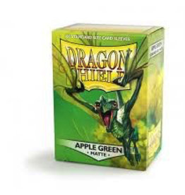 DS - Standard Sleeves Dragon Shield Standard Sleeves - Matte Apple Green (100 Sleeves)