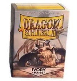 DS - Standard Sleeves Dragon Shield Standard Sleeves - Matte Ivory (100 Sleeves)