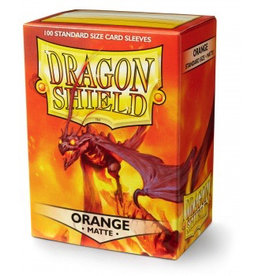 DS - Standard Sleeves Dragon Shield Standard Sleeves - Matte Orange (100 Sleeves)