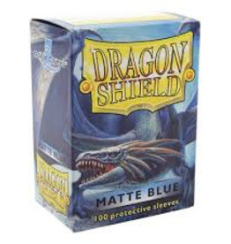 DS - Standard Sleeves Dragon Shield Standard Sleeves - Matte Blue (100 Sleeves)