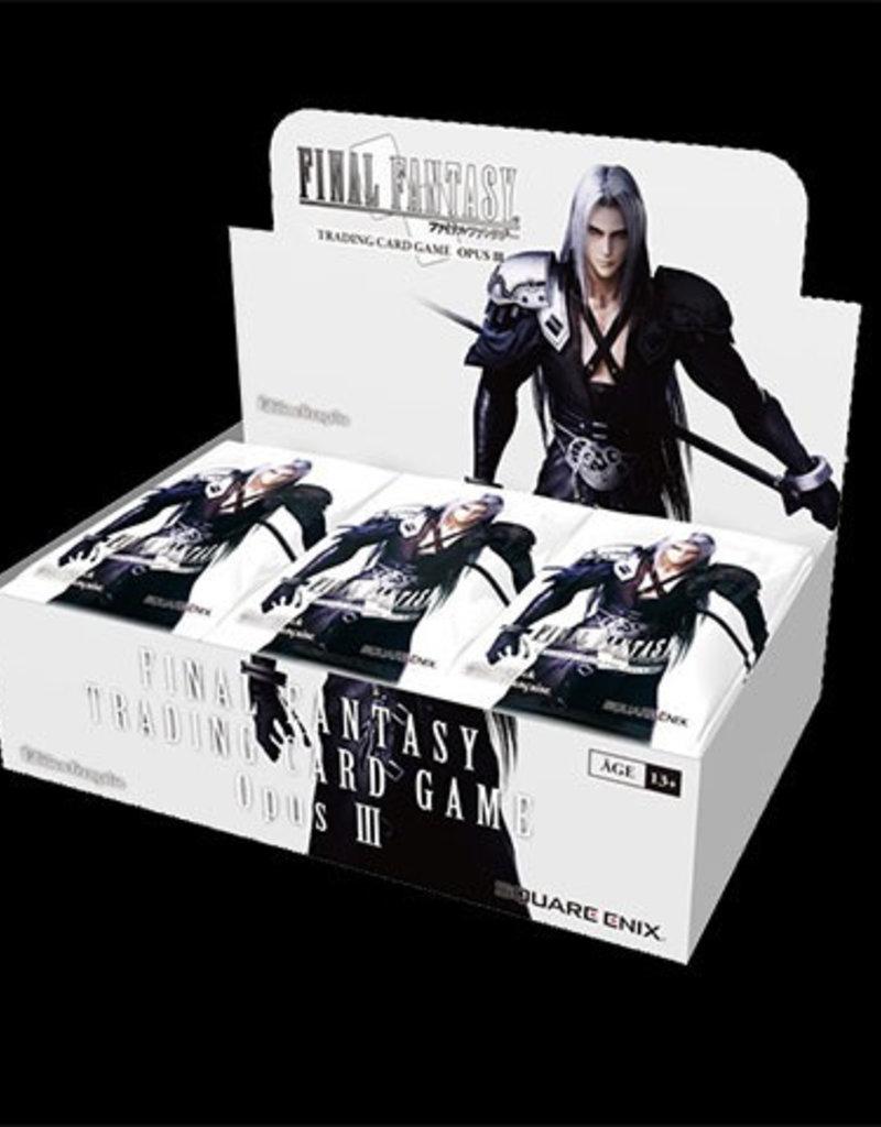 FF - Opus 3 Final Fantasy TCG Opus 3 - Booster Display (36 Packs) - EN