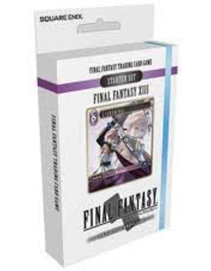 FF - Starter Deck Final Fantasy TCG: Final Fantasy 13 - Starter Set - EN