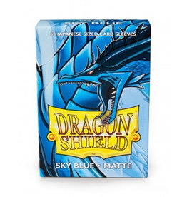 DS - Small Sleeves Dragon Shield Small Sleeves - Japanese Matte Sky Blue (60 Sleeves)